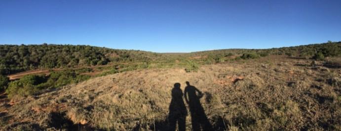 Gorah Elephant Camp - Der obligatorische SchattenShot