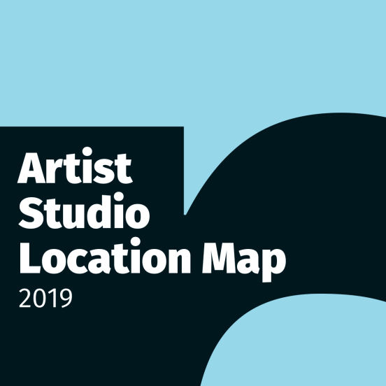 Fernwood Art Stroll - Artist Studio Location Map graphic