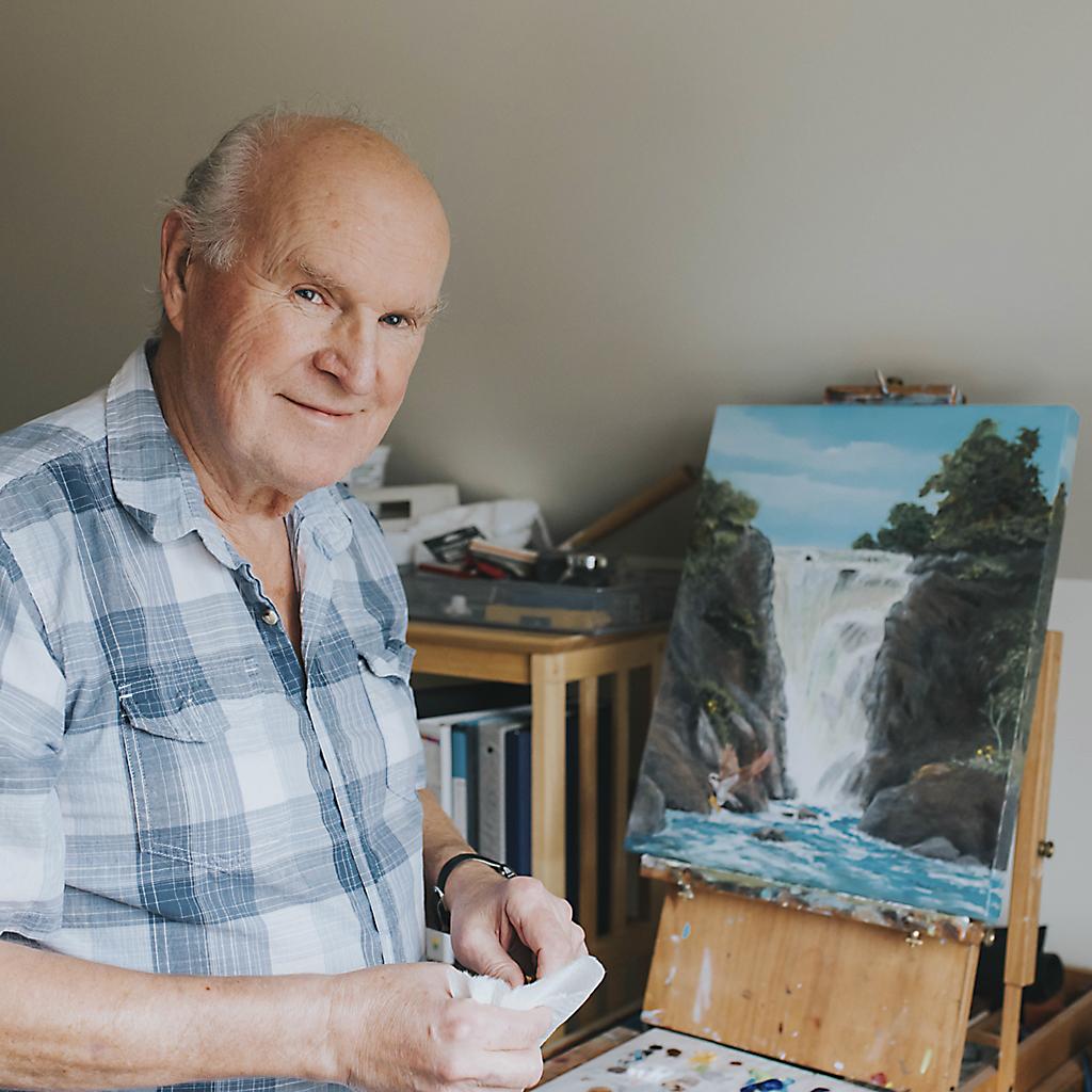 Michael Bourque - Portrait