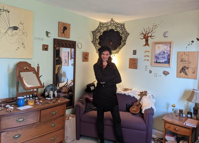 Iris Moore - self portrait