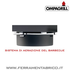 BARBECUES OMPAGRILL 80501