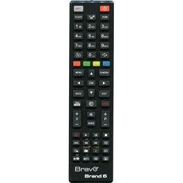 TELECOMANDO BRAND6 TV TELEFUNKEN BRAVO