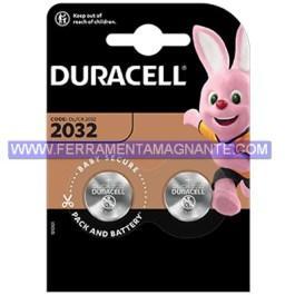 Batteria tipo (CR 2032) (DURACELL) bipack