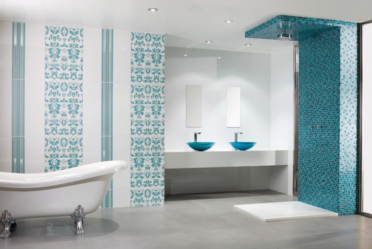 salle de bain dune bleu