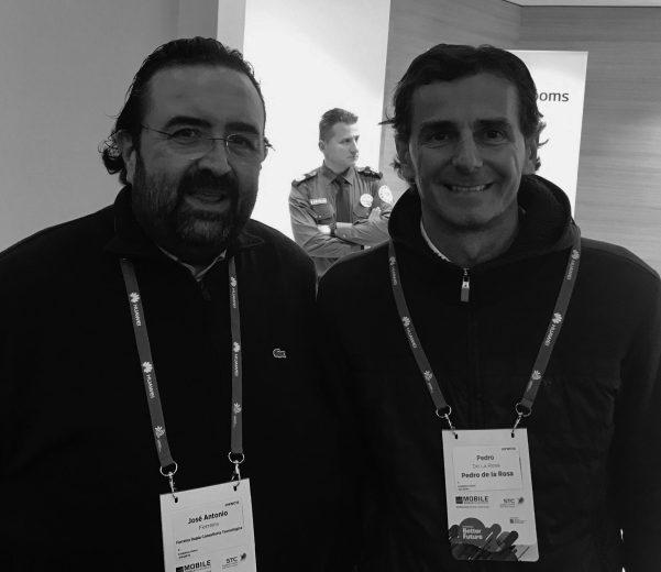 José A. Ferreira Dapía y Pedro De la Rosa