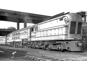 Locomotiva nº502 na Chesapeake & Ohio, sem data