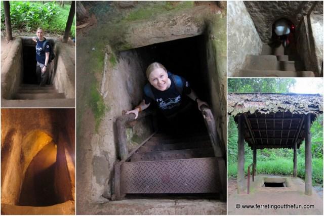 cu chi tunnels entrance