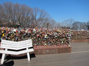 Love Locks and Lovely Views at N Seoul Tower