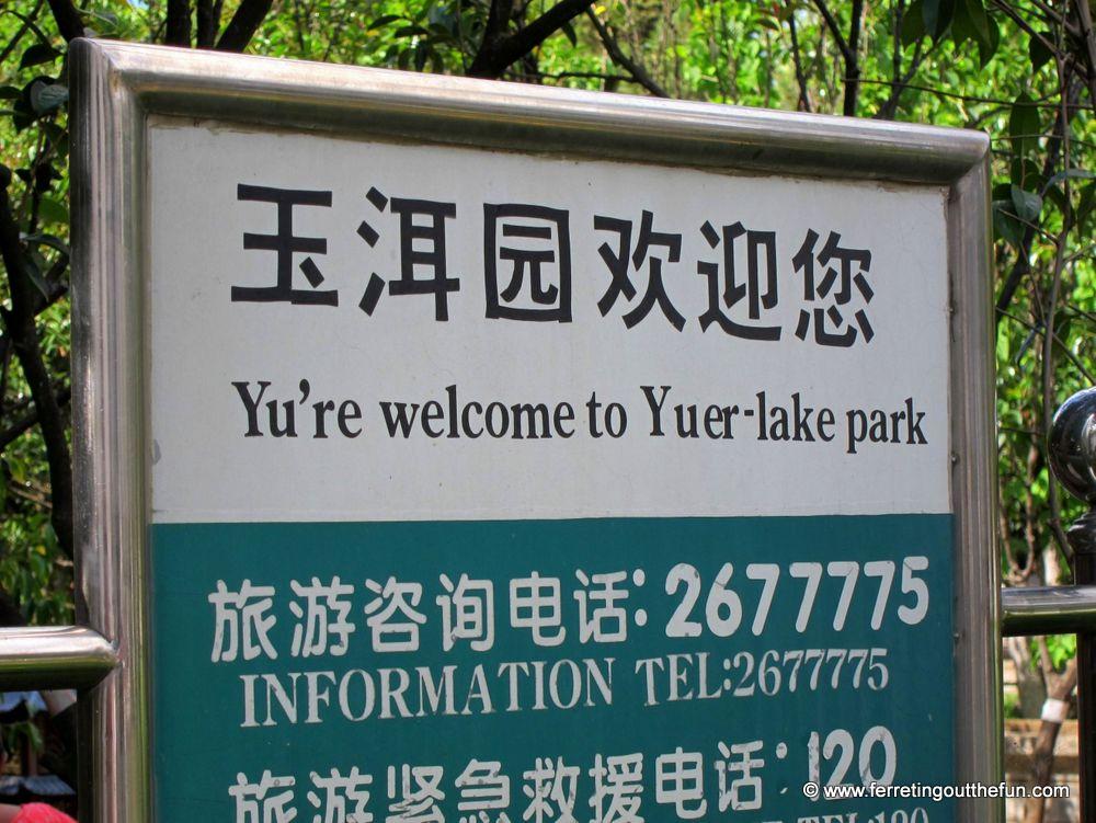 Chinglish pun