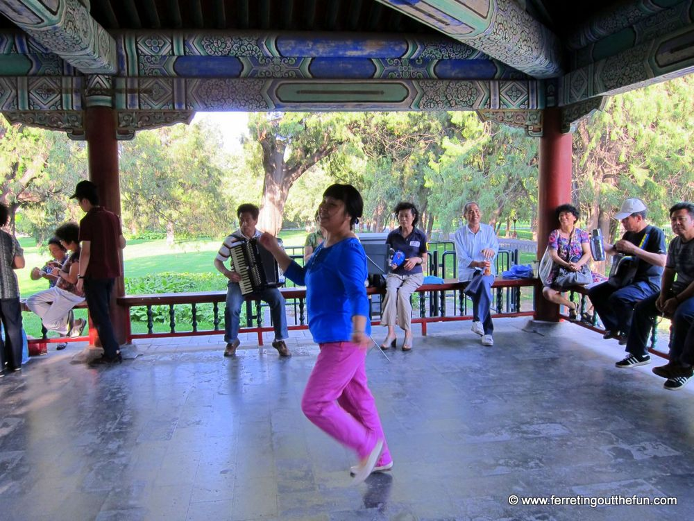 Dancing in Beijing