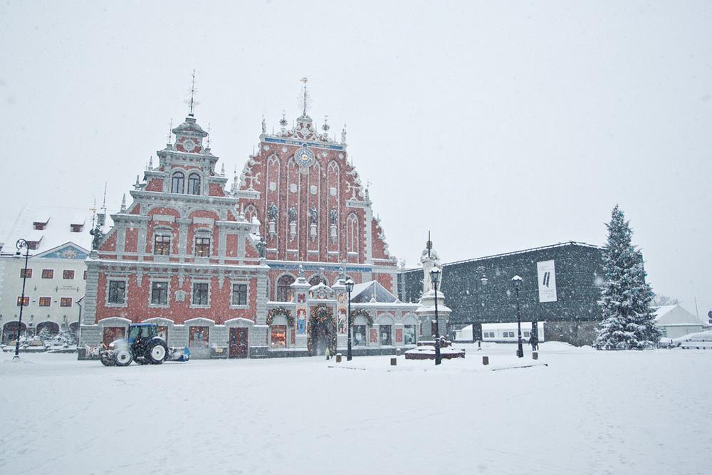 Latvian winter 2