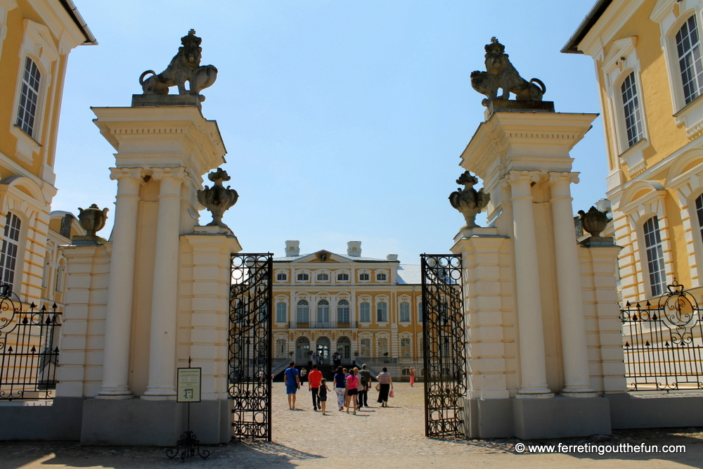 Rundale Palace: The Versailles of Latvia - Ferreting Out ...