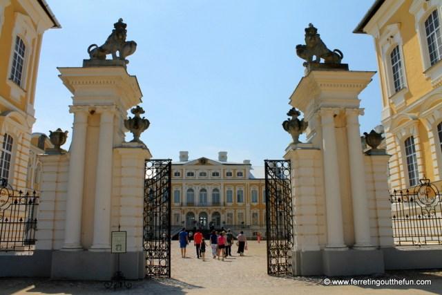 Rundale Palace Entrance Gates