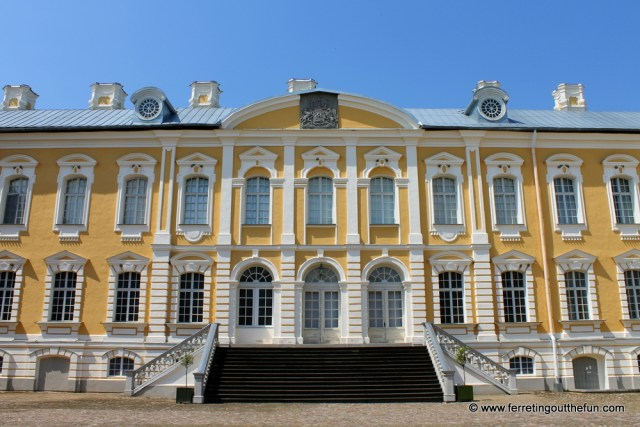 Rundale Palace facade