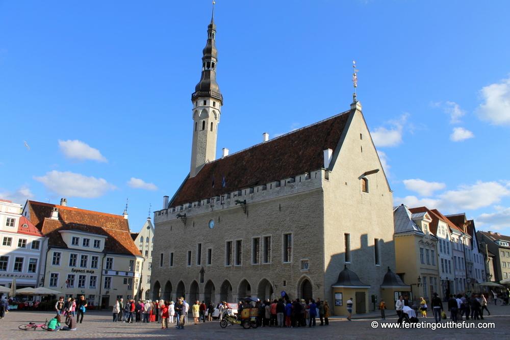 Old Town Hall, Tallinn
