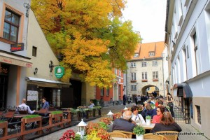 Awed by Autumn in Riga, Latvia