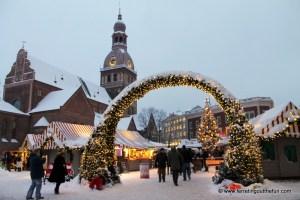 Celebrating Christmas in Riga, Latvia