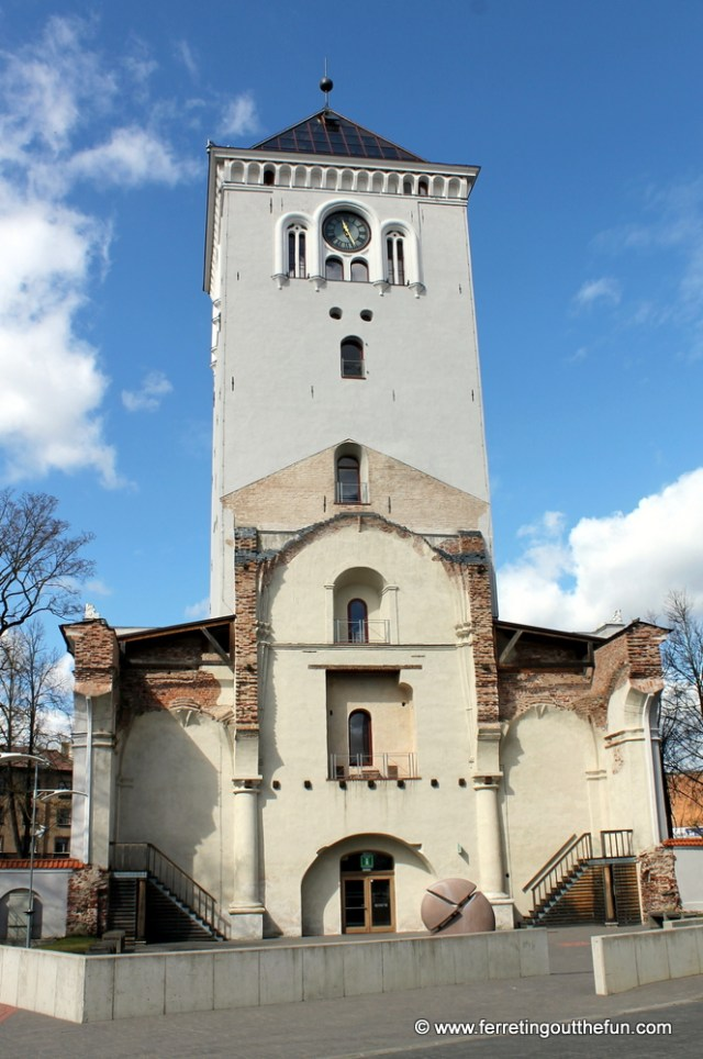 Jelgava church tower