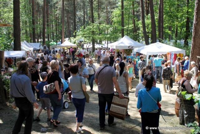 Annual Latvian craft fair