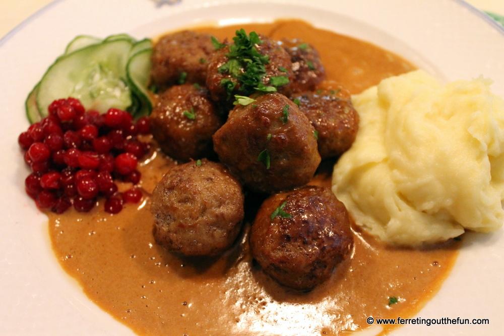 Swedish meatballs at Bakfickan