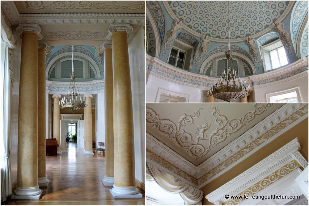 Mezotne Palace Interior