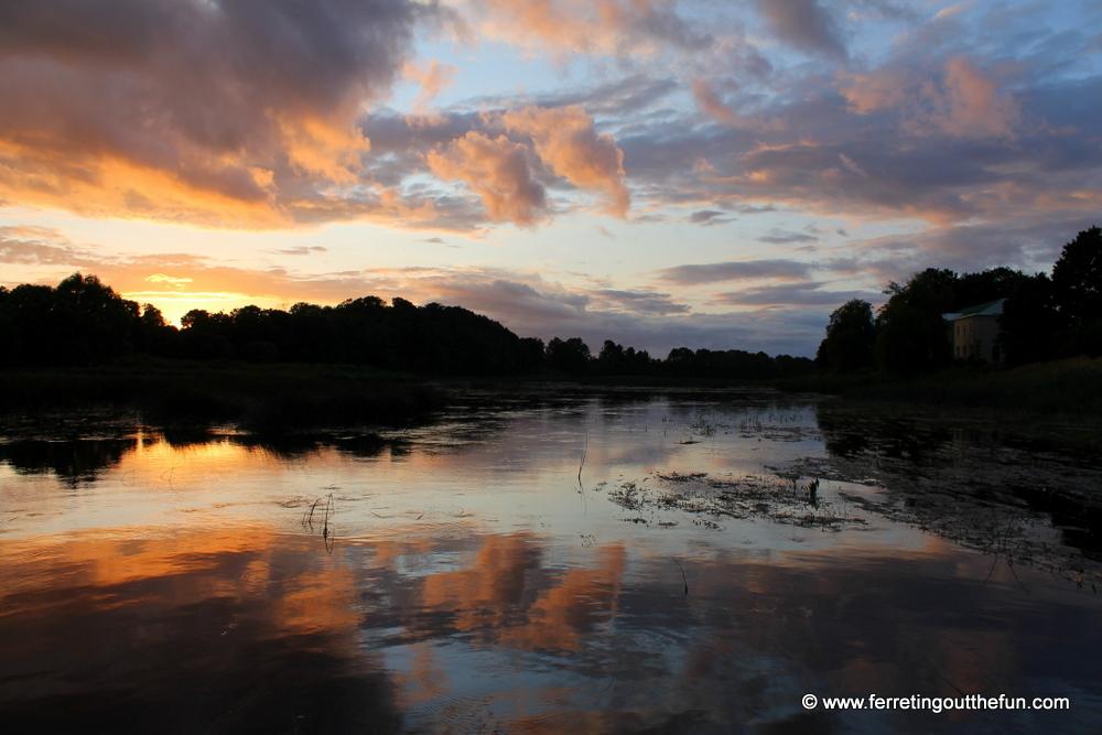 Summer Sunset in Latvia