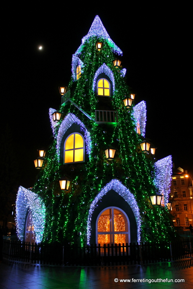 An Enchanted Christmas In Vilnius Lithuania
