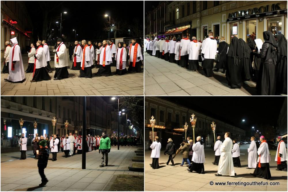 Easter in Kaunas Lithuania