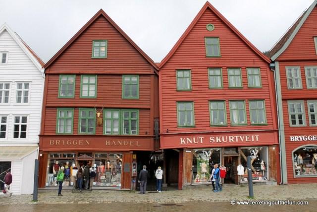 Bryygen UNESCO Site Norway