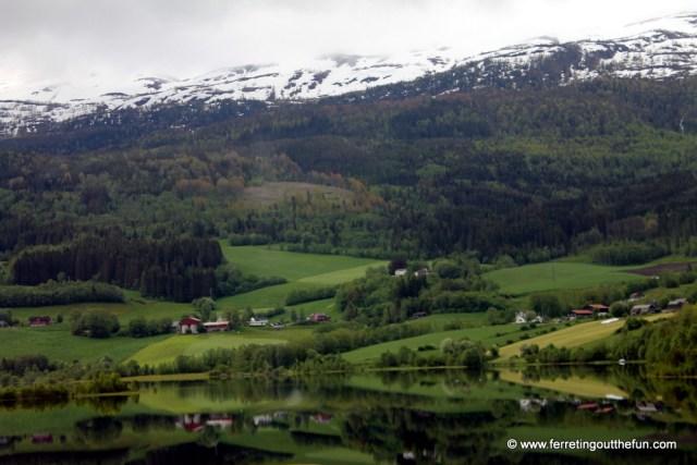 Bergen Railway View