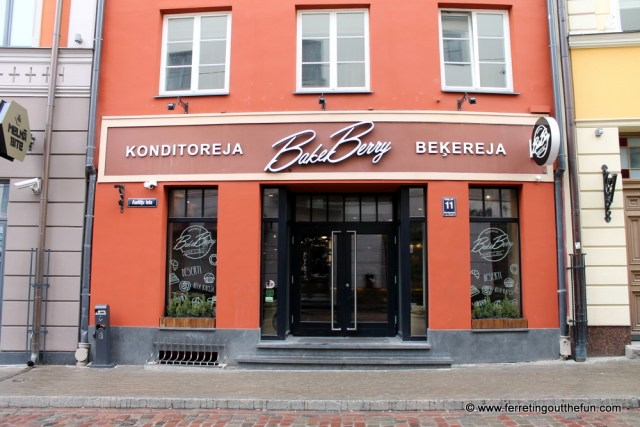 BakeBerry Cafe Riga
