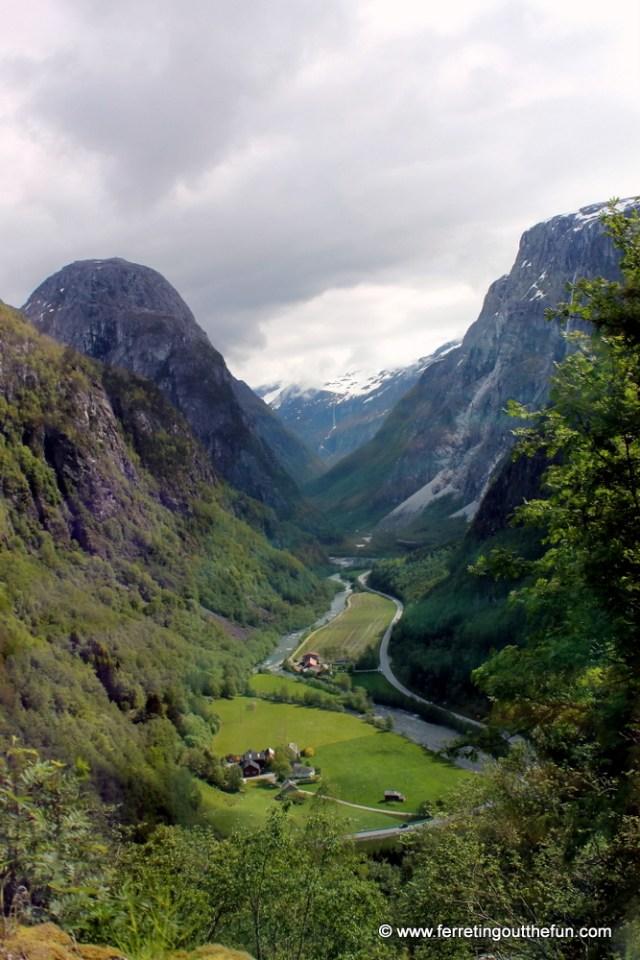Stalheimskleiva Road Norway