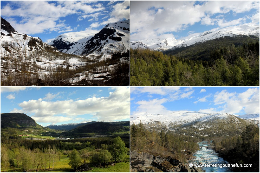 Norway Mountain Scenery