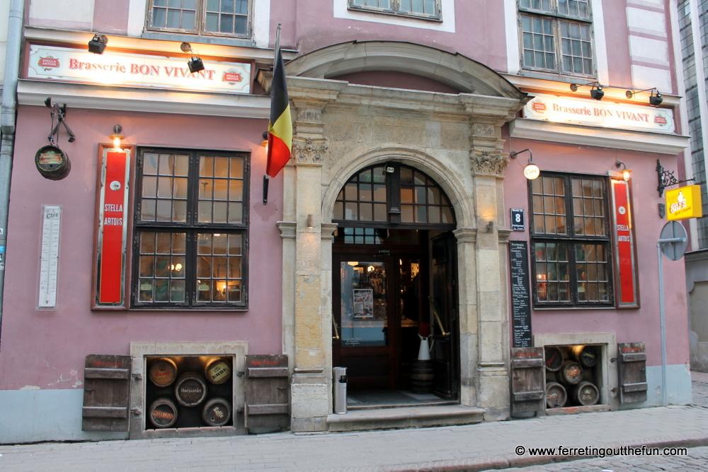 Bon Vivant Belgian Restaurant Riga