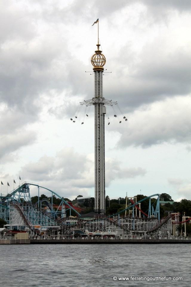 grona lund amusement park stockholm