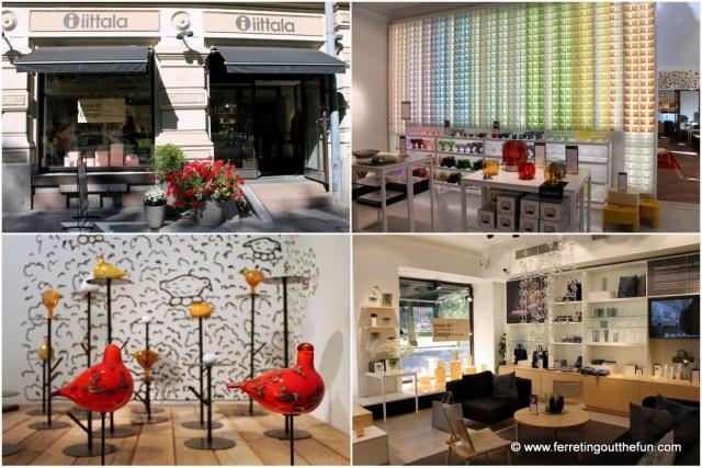 Helsinki iittala store
