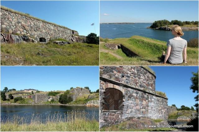 Helsinki Suomenlinna Fortress