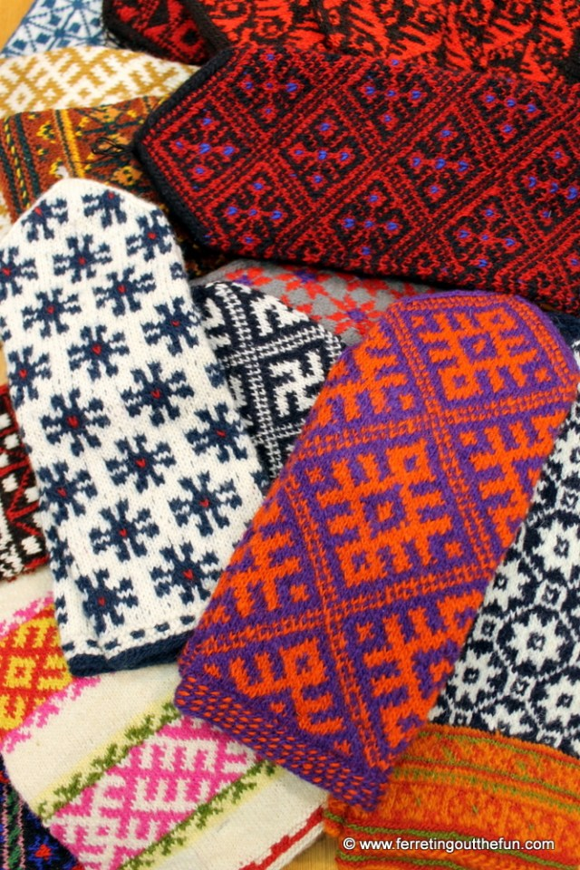 Latvian Mittens from Sena Klets in Riga
