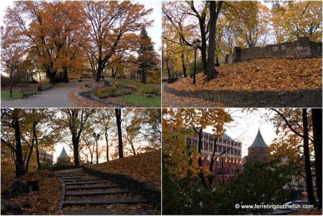 Riga Bastejkalns Park