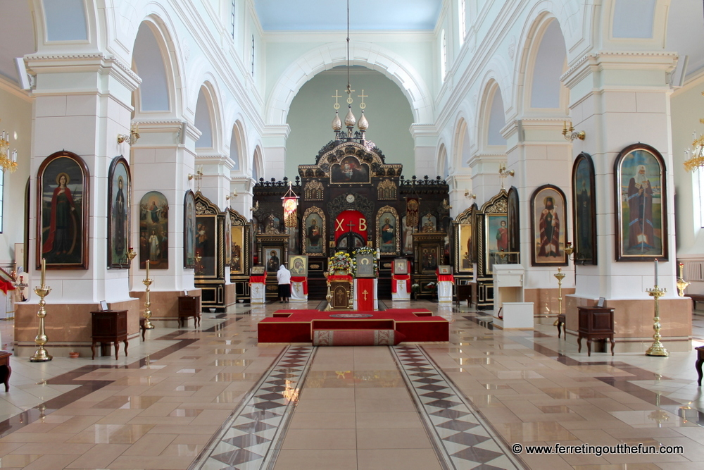 Daugavpils Russian Orthodox Cathedral interior