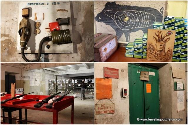 Daugavpils Lead Shot Factory tour