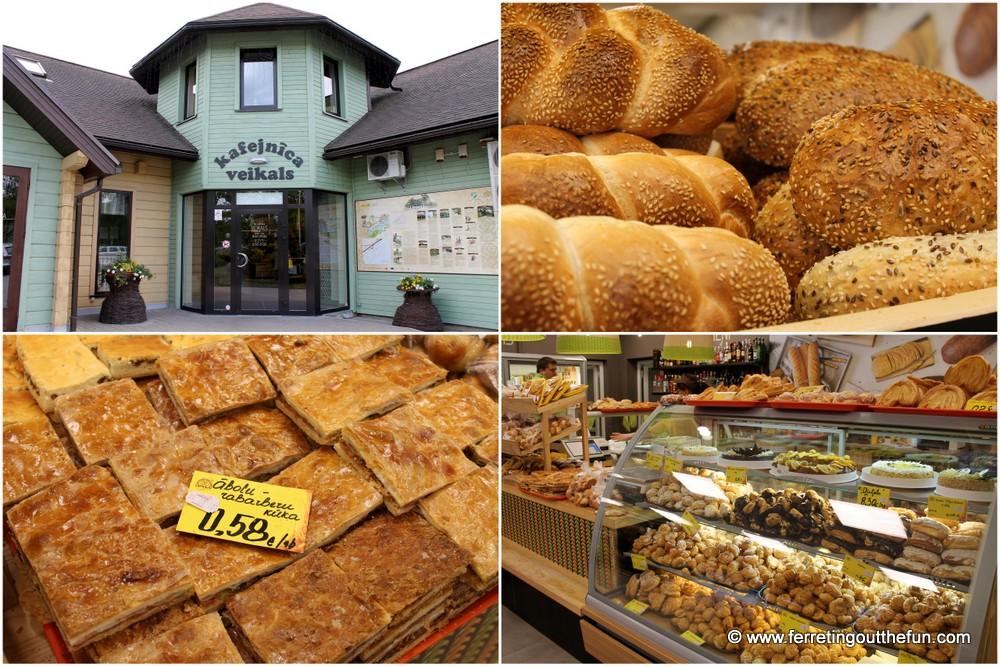 Latvia Liepkalni bakery