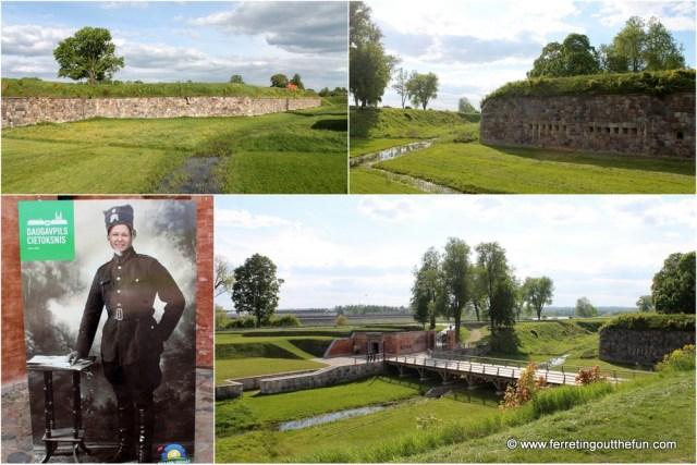 Daugavpils Fortress Latvia