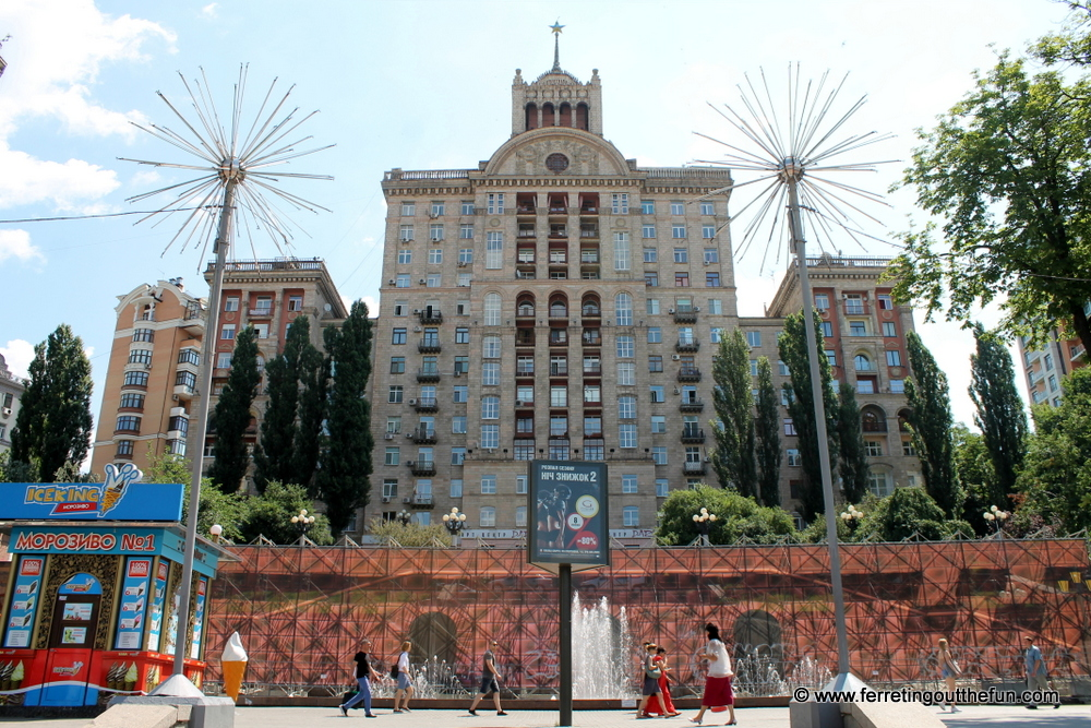 Kyiv Soviet Architecture