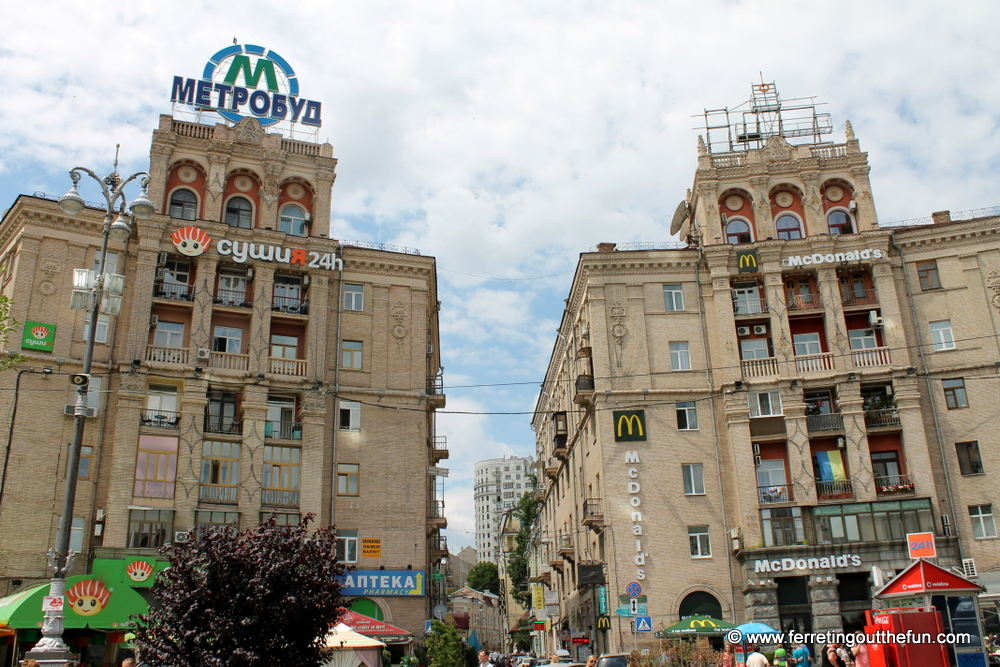 Kyiv Stalinist Empire Architecture