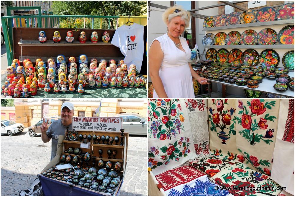 Kyiv Souvenir Shopping