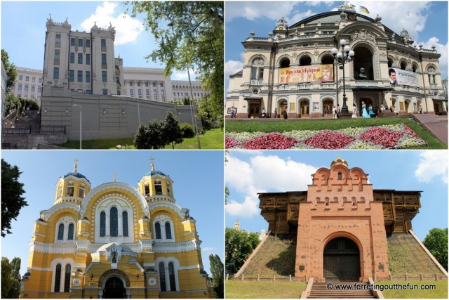 Kyiv Landmarks