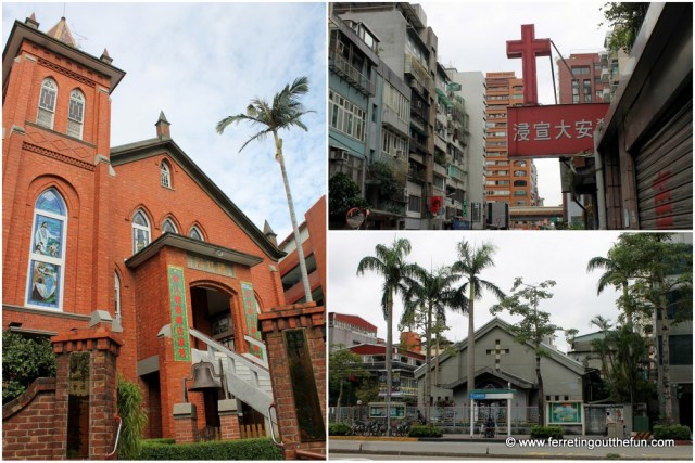 churches in taipei