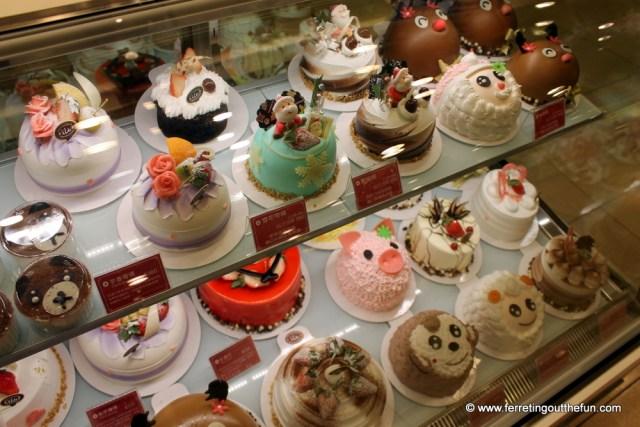 fancy cakes taiwan