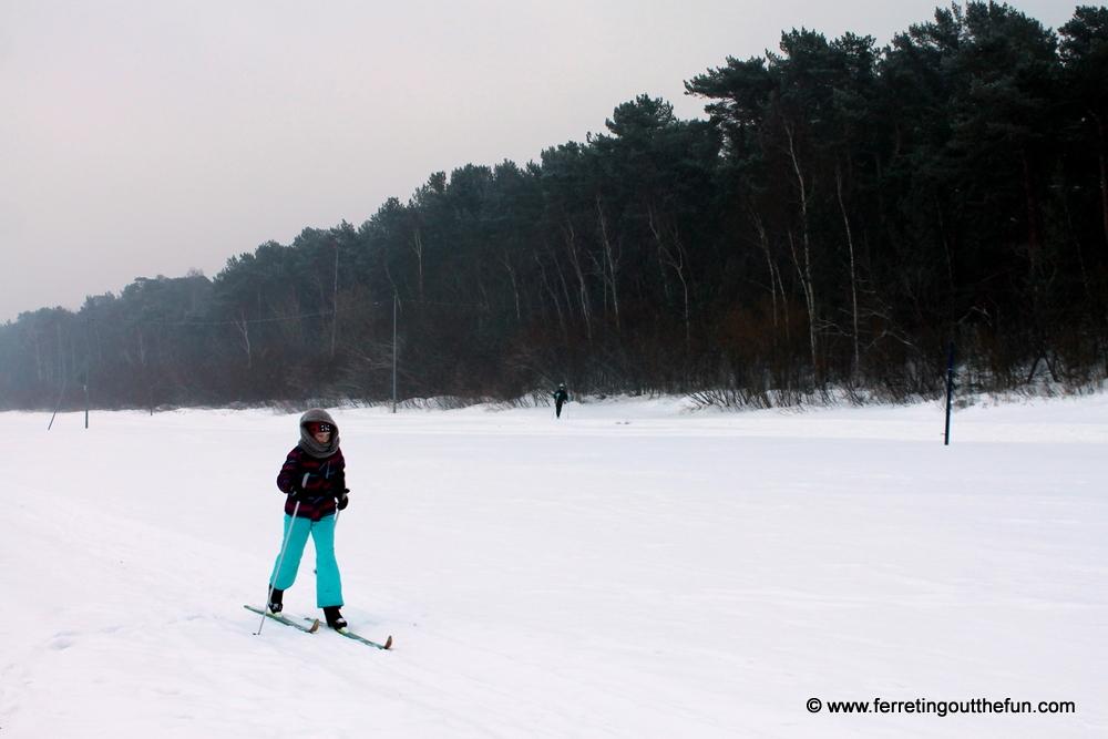 jurmala beach skiing